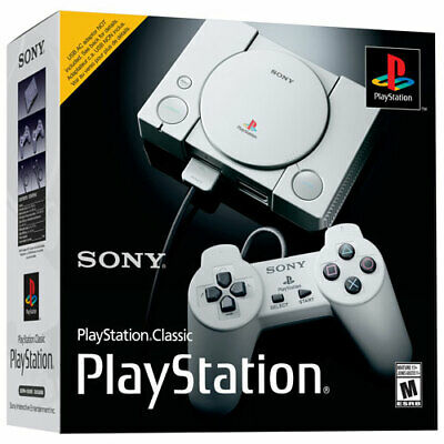 Authentic Sony Playstation Classic Console - 20 Games 2 Controllers - Brand New
