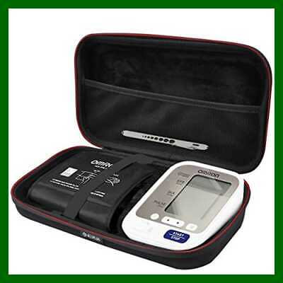 Hard Carrying Case For Omron 5 Series Wireless Upper Arm Blood Pressure Monitor