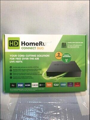 SILICONDUST HDHOMERUN CONNECT Duo HDHR5-2US 2- Tuner LiveTV