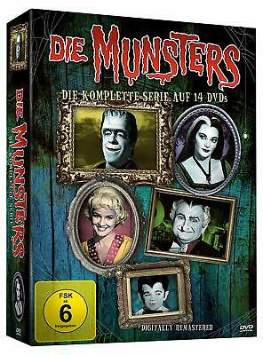 Complete Box Set the Munsters Collection the Complete Tv Series 14 DVD Box