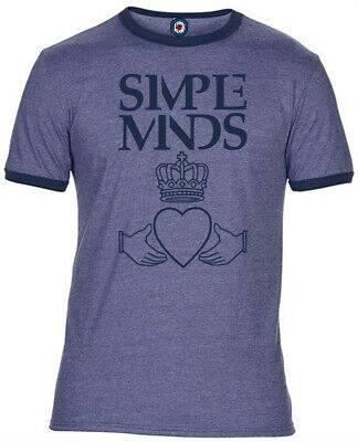 Simple Minds Quality Ringer T-Shirt - 4 Colours