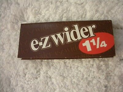 10 Ct Ez Wider  Rolling Papers  1.25 Clean Burning