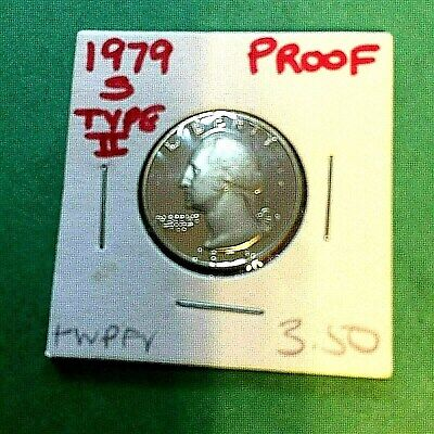 1979-S Type II (RARE) Choice Proof Washington Quarter