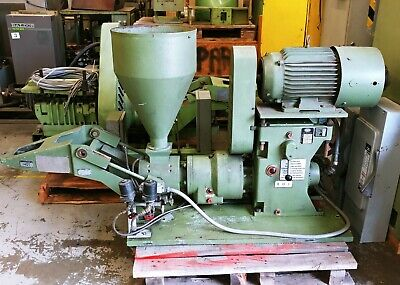 Reduced!!!!!  Bekum 60Mm S631 2 Speed Extruder Gear Box Fan Cooled Ac Motor