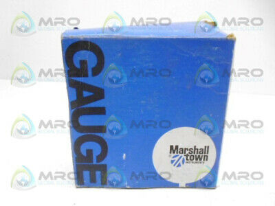 Marshall Town G10167 Pressure Guage *New In Box*