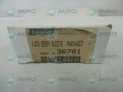Lovejoy 36701 6Jes Epdm Sleeve * New In Box *