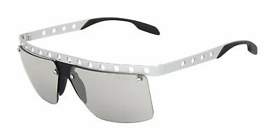 1fb0c56a856da New Prada Sunglasses SPR 50R TKH-112 Silver Aluminum Frame Mirrored Grey  Lens