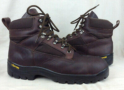 b7357ac8dfc RED WING WORX 5436 Size 12 M US Men's Brown Vibram Soles Steel Toe Work  Boots