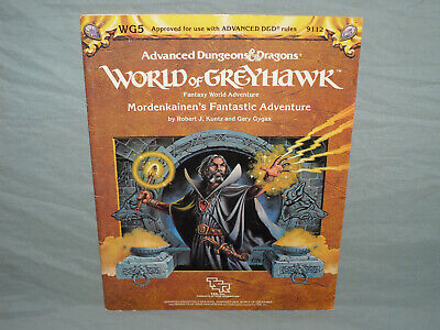 AD&D 1st Ed Module -  WG5 MORDENKAINEN'S FANTASTIC ADVENTURE  (RARE and EXC+!!)
