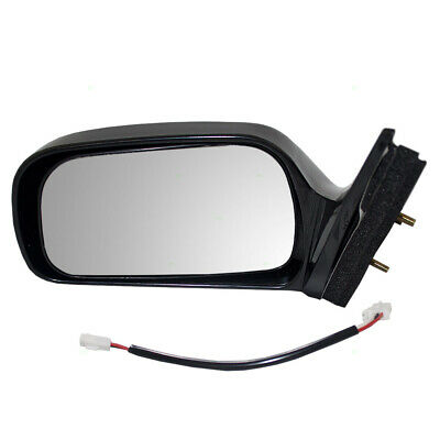 US Made Door Mirror Glass Replacement Driver Side For Toyota Corolla 98-02