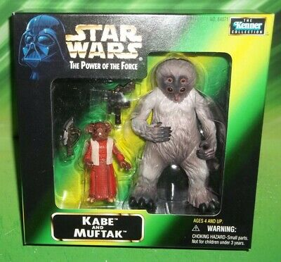 Kabe and Muftak Mail Away MIB-Star Wars Power of the Force