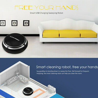 Smart Sweeping Robot USB Charging Automatic Intelligent Vacuum Cleaner Home Use