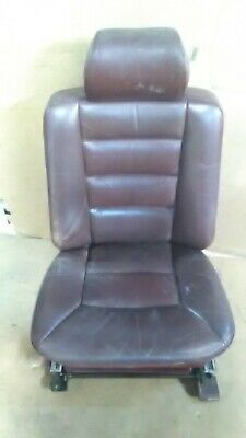 1989 Mercedes S-Class 300 Se Driver Front Leather Seat