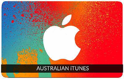 iTunes Gift Card $30 AUSTRALIAN Apple | App Store Key Code AUSTRALIA | iPhone..