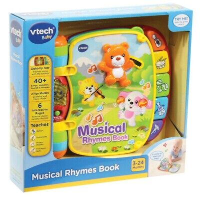 NEW Vtech Musical Rhymes Book from Mr Toys