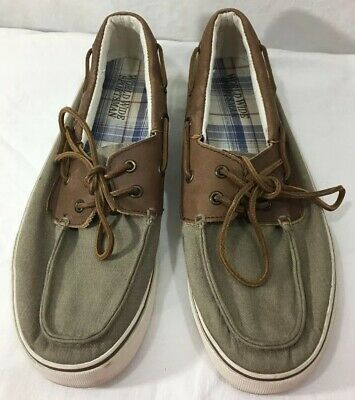 6f9d561b7 TOMMY HILFIGER TAN Brown Boat Deck Casual Shoes Worn Once Men s Size ...