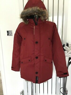 Bnwt Boys Marks & Spencer Parker Style  Coat Age 13/14 Years