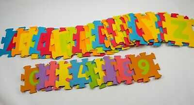 Large Kids Alphabet Letter Soft Foam Play Floor Mat Jigsaw Learning