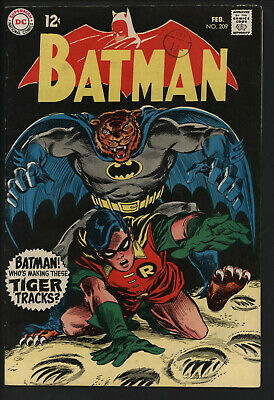 Batman 209. Great Cover. Bright Glossy Copy With White Pages