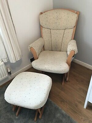 Nursery Dutailer Chair And Footstool