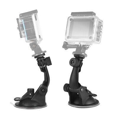 Action Camera Suction Cup Mount With Tripod Adapter For Go Pro Hero 7/6/5/4 Hero