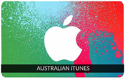 iTunes Gift Card $50 AUSTRALIAN Apple | App Store Key Code AUSTRALIA | iPhone..