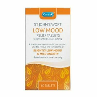 Care St John's Wort Low Mood Relief - 60 Tablets