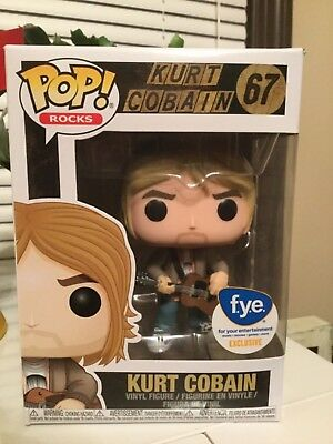 Funko Pop Kurt Cobain #67 - FYE Exclusive - Nirvana