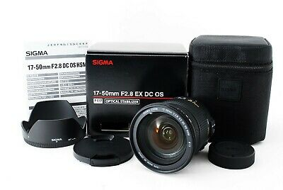 SIGMA 17-50mm F2.8 EX DC OS Nikon mount sigma Japan (1540)