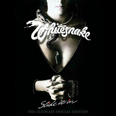 Whitesnake Slide It In 2019 Ultimate Special Edition 6 cd + 1 dvd deluxe box set