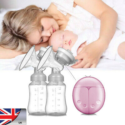 Baby Electric Automatic Easy Use Double Breast Pump Intelligent Feeder with USB