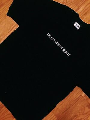 """Vintage OG 00's Soft Cell """"Cruelty Without Beauty"""" T-Shirt Punk Band Modern Tee"""
