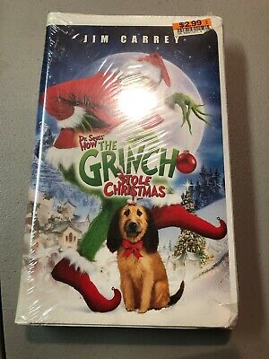 How The Grinch Stole Christmas 2000 Vhs.Dr Seuss How The Grinch Stole Christmas 2000 Vhs Tape New