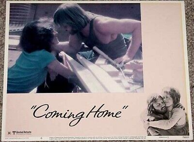 Coming Home Lobby Card #6-Lover's Building Blocks-Nice Vg