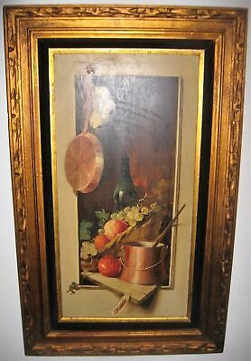 Beautiful Vintage frame, Includes Jack Patton painting.
