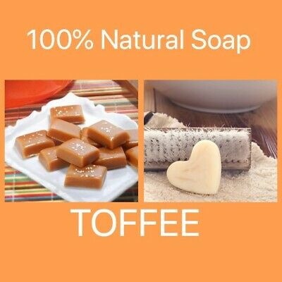 1 Large  100% Natural Oatmeal & shea Scented Soap Various Scents