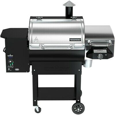 Camp Chef Woodwind Pellet Grill in Stainless Steel BBQ Sear Box Automatic New