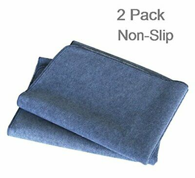 """2PCS Washable Puppy Pads Large 42"""" x 30"""", Upgrade Non-Slip Dog Pee Pads with"""
