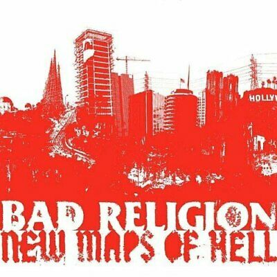 Bad Religion-New Maps of Hell CD with DVD NEW