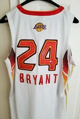 cb441299118 NWOT Autographed Authentic Kobe Bryant Lakers 2009 NBA All Star Jersey Sewn  RARE