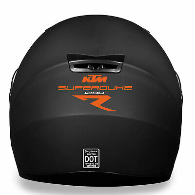KTM SUPERDUKE 1290 R HELMET KIT Decal Sticker PREMIUM QUALITY!!