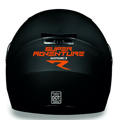 KTM SUPER ADVENTURE 1290 R HELMET KIT Decal Sticker PREMIUM QUALITY!!
