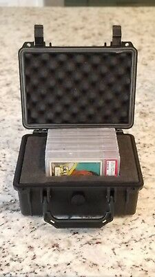 Certified Small Travel Waterproof Graded Sports Card Storage Box PSA BVG BGS
