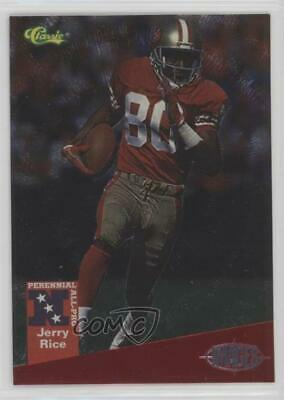 1994 Classic Images All-Pro No Serial Number /2600 Jerry Rice #A9 HOF