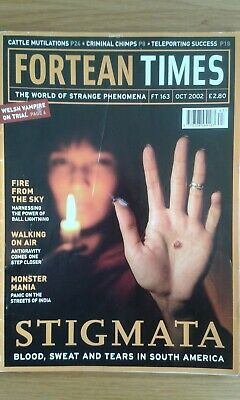 Fortean Times magazine issue 163 Oct 2002 postal discount on multiple purchases
