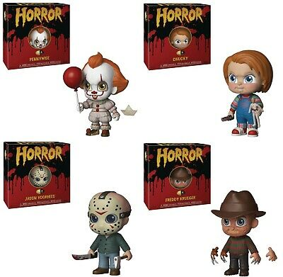 Funko Five 5 Star Horror Chucky Freddy Jason Pennywise Complete Set Lot NEW