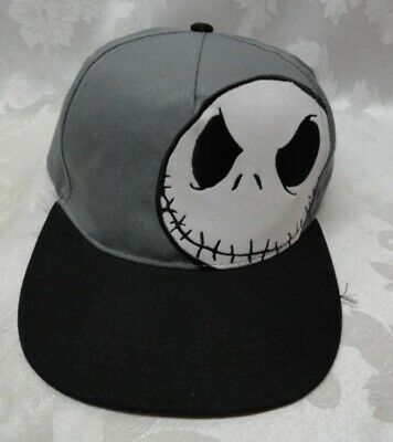 449fb5a435cb7 The Nightmare Before Christmas Baseball Cap Snap Back One Size Jack  Skellington