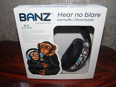 Banz baby ear defenders 0-2 Sticks and Stones