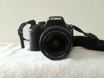 CANON EOS 550D DIGITAL SLR CAMERA with CANON ZOOM LENS EF-S 18-55MM 1:3.5.5.6 IS