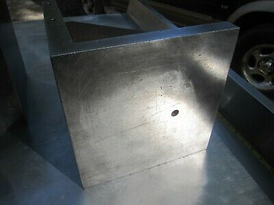 "(right) ""1"" Machinist 90 Degree ANGLE PLATE 10"" X 10"" X 10"" X 1"" (67LBS)"